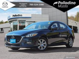 Used 2017 Mazda MAZDA3 GX - NO ACCIDENTS - LOW KMS - GREAT STARTER CAR for sale in Sudbury, ON