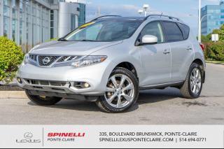 Used 2012 Nissan Murano **PLATINUM** **TOUTE EQUIPPE**TOIT PANORAMIQUE**CUIR**GPS**CAMERA DE RECULE EST BEAUCOUP PLUS** for sale in Montréal, QC
