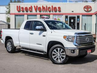 Used 2016 Toyota Tundra 4WD Double Cab 146  5.7L Limited | COMING SOON for sale in North York, ON