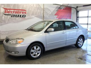 Used 2005 Toyota Corolla CE for sale in Lévis, QC