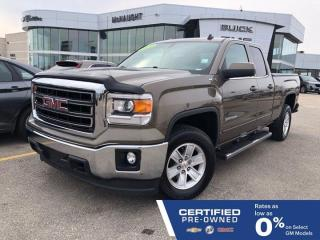 Used 2014 GMC Sierra 1500 SLE 4x4 Double Cab | Touchscreen Radio for sale in Winnipeg, MB