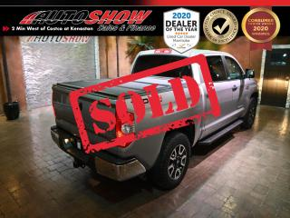 Used 2017 Toyota Tundra CrewMax TRD - Nav, Htd Seats & S.Roof !! for sale in Winnipeg, MB