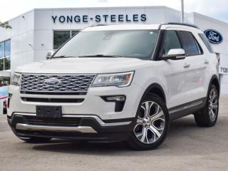 Used 2018 Ford Explorer Platinum for sale in Thornhill, ON