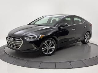 Used 2017 Hyundai Elantra Limited CUIR TOIT PANO GPS for sale in Brossard, QC