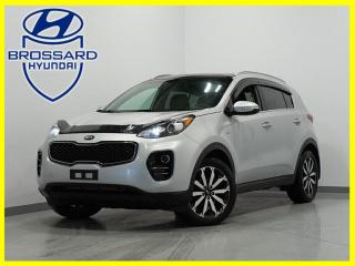 Used 2017 Kia Sportage AWD CUIR TOIT PANO 4X4 BACK UP CAM for sale in Brossard, QC