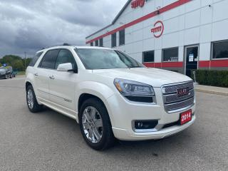 Used 2014 GMC Acadia Denali AWD with Navigation for sale in Tillsonburg, ON