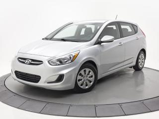 Used 2016 Hyundai Accent GL AC SIEGES CHAUFFANT  BLUETOOTH 8/160000 km for sale in Brossard, QC
