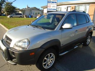 Used 2007 Hyundai Tucson GL for sale in Ancienne Lorette, QC