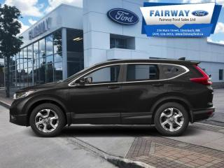 Used 2017 Honda CR-V EX-L  - Sunroof -  Leather Seats for sale in Steinbach, MB