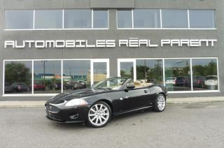 Used 2008 Jaguar XK CONVERTIBLE - ALPINE - NAVI - for sale in Québec, QC