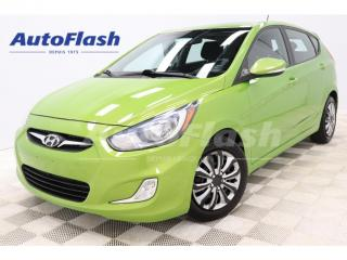 Used 2013 Hyundai Accent GLS *M6 *Bluetooth *Toit-Ouvrant/Sunroof for sale in St-Hubert, QC