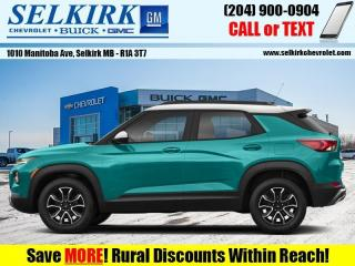 New 2021 Chevrolet TrailBlazer for sale in Selkirk, MB