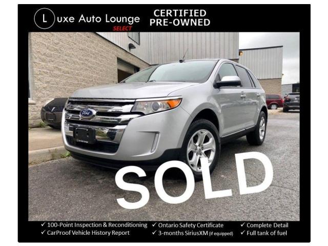 2013 Ford Edge SEL, HEATED SEATS, BACK-UP CAMERA, REMOTE START!