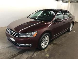 Used 2014 Volkswagen Passat TDI Highline *NAVIGATION* CUIR / SUEDE TOIT MAGS for sale in St-Eustache, QC