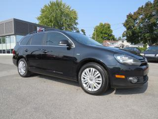 Used 2014 Volkswagen Golf Wagon TDI Wolfsburg Edition NAVIGATION CUIR TOIT PANO for sale in St-Eustache, QC