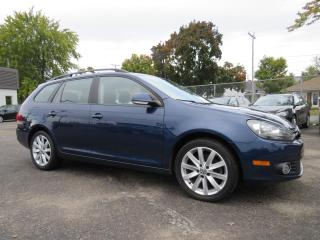 Used 2014 Volkswagen Golf Wagon TDI A/C MAGS SIEGES CHAUFF. 6 VITESSE 96,000KM for sale in St-Eustache, QC