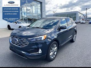 Used 2019 Ford Edge Titanium AWD CUIR TOIT NAV TAUX A 1.99 for sale in Victoriaville, QC