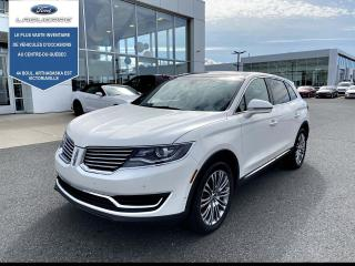 Used 2016 Lincoln MKX AWD 4DR RESERVE for sale in Victoriaville, QC