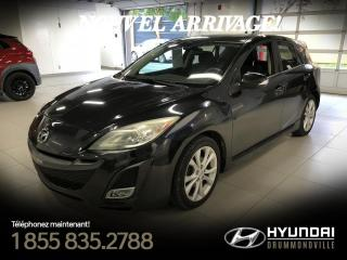 Used 2010 Mazda MAZDA3 GS + TOIT + 32 976 KM + A/C + CRUISE + W for sale in Drummondville, QC