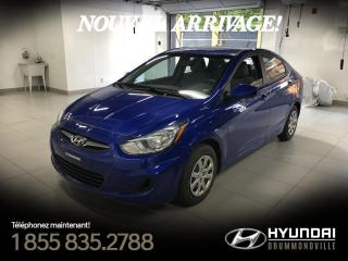 Used 2013 Hyundai Accent L + GARANTIE + 36 139 KM + A/C + WOW !! for sale in Drummondville, QC