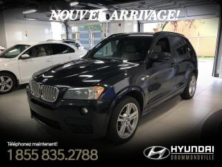 Used 2014 BMW X3 35i + M PACK + GARANTIE + NAVI + TOIT PA for sale in Drummondville, QC