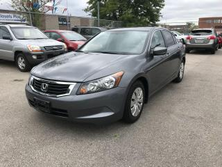 Used 2008 Honda Accord 4CYL,$6888,139KM,SAFETY+3 YEARS WARRANTY INCLUDED for sale in Toronto, ON