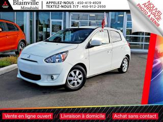 Used 2014 Mitsubishi Mirage SE COMMODITE CLIM + CRUISE + SIEGES-CHAUFFANTS for sale in Blainville, QC