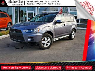 Used 2010 Mitsubishi Outlander ES CLIM + MAGS + SIEGES-CHAUFFANTS for sale in Blainville, QC