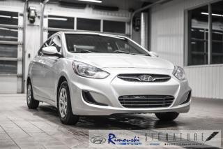 Used 2012 Hyundai Accent GL Chez Rimouski Hyundai for sale in Rimouski, QC