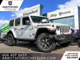 New 2021 Jeep Wrangler Rubicon Unlimited  - Leather Seats - $388 B/W for sale in Abbotsford, BC