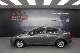 Used 2012 Honda Civic EX AUTOMATIQUE TOIT OUVRANT + MAGS + BLUETOOTH for sale in Lévis, QC