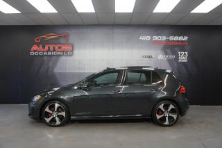 Used 2016 Volkswagen Golf GTI GTI AUTOBAHN DSG AUTO GPS NAV TOIT PANO 72 851 KM for sale in Lévis, QC