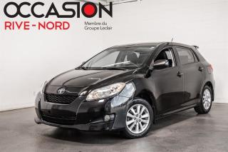 Used 2010 Toyota Matrix Manuelle A/C+Grantie 1 AN INCLUSE for sale in Boisbriand, QC