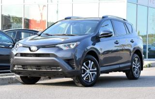 Used 2017 Toyota RAV4 DEAL PENDING LE AWD TRES BAS KM AWD TRES BAS KM BLUETOOTH CAMERA RECUL for sale in Lachine, QC