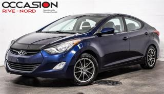 Used 2012 Hyundai Elantra GLS Toit ouvrant+++ Garantie 1 AN for sale in Boisbriand, QC