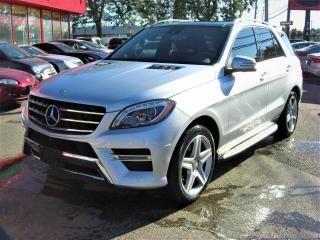 Used 2015 Mercedes-Benz M-Class ML 350 BlueTEC AMG PACKAGE for sale in London, ON