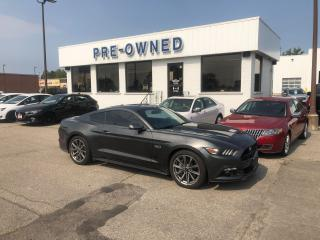 Used 2015 Ford Mustang GT Premium for sale in Brantford, ON