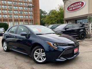 Used 2019 Toyota Corolla Hatchback CLEAN CARFAX | CAM | LANE KEEPING + DEPA for sale in Scarborough, ON