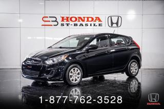 Used 2013 Hyundai Accent GL + HATCHBACK + AUTO + A/C + WOW! for sale in St-Basile-le-Grand, QC