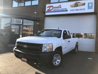 Used 2013 Chevrolet Silverado 1500 WT-4x4-EXTENDED CAB-*CERTIFIED* for sale in York, ON