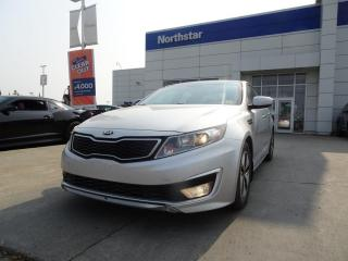 Used 2013 Kia Optima Hybrid HYBRID/NEWTRANSMISSION/PUSHBUTTON/BACKUPCAM/HEATEDSEATS for sale in Edmonton, AB