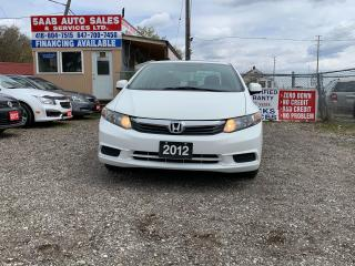 Used 2012 Honda Civic EX for sale in Mississauga, ON