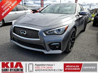 Used 2014 Infiniti Q50 Hybrid S AWD ** NAVI / CUIR / TOIT for sale in St-Hyacinthe, QC