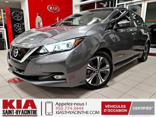 Used 2018 Nissan Leaf SV ** NAVIGATION / SIÈGES CHAUFFANTS for sale in St-Hyacinthe, QC