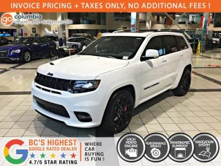 New 2020 Jeep Grand Cherokee SRT for sale in Richmond, BC