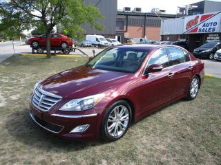 Used 2013 Hyundai Genesis Technology Pkg ~ Winter Tires ~ LOW KM ~ LOADED for sale in Toronto, ON