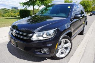 Used 2016 Volkswagen Tiguan R-LINE / 1 OWNER / NO ACCIDENTS / LOADED /STUNNING for sale in Etobicoke, ON