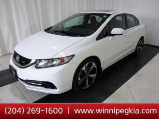 Used 2015 Honda Civic Sedan Si *Accident Free, Always Owned In MB!* for sale in Winnipeg, MB