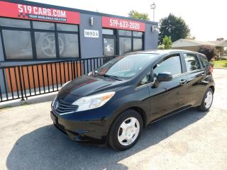 Used 2014 Nissan Versa Note SV|BACKUP CAMERA|BLUETOOTH|AUX/USB for sale in St. Thomas, ON