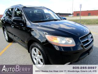 Used 2008 Hyundai Santa Fe Limited - AWD - 3.3L for sale in Woodbridge, ON